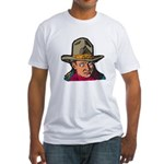 Movie Cowboy #1 Fitted T-Shirt