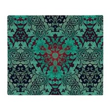 Cute Floral shabby chic Throw Blanket