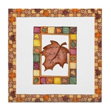 The Colors of Autumn Tile Coaster