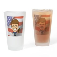 President Jimmy Carter with America Drinking Glass