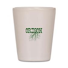 Oregon Roots Shot Glass