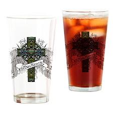 MacKenzie Tartan Cross Drinking Glass