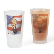 President John Quincy Adams Drinking Glass