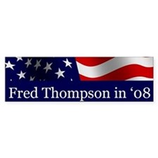 Fred o8 Bumper Bumper Sticker