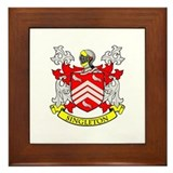 SINGLETON Coat of Arms Framed Tile