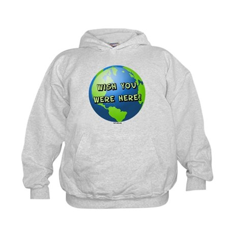 Wish you were here Kids Hoodie
