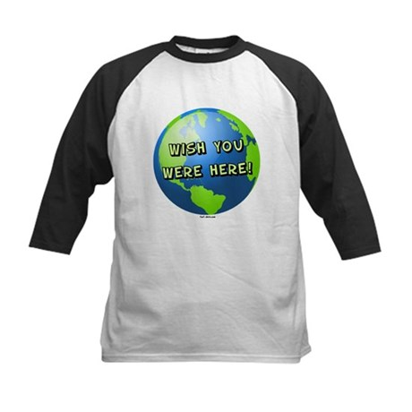 Wish you were here Kids Baseball Jersey