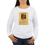 Warning to Moochers Women's Long Sleeve T-Shirt
