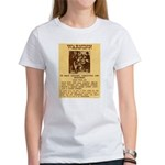 Warning to Moochers Women's T-Shirt