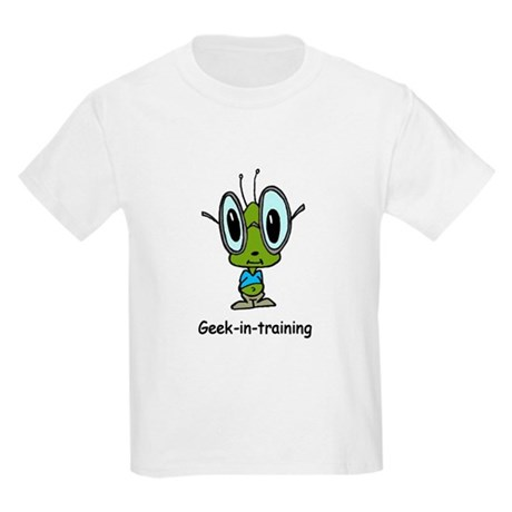 Geek in Training Kids Light T-Shirt