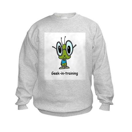 Geek in Training Kids Sweatshirt