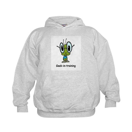 Geek in Training Kids Hoodie