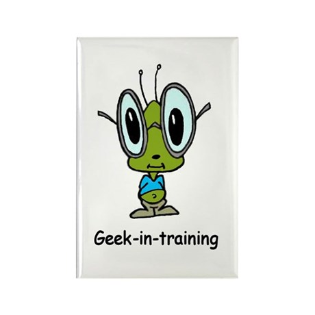 Geek in Training Rectangle Magnet