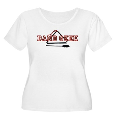 Band Geek Women's Plus Size Scoop Neck T-Shirt