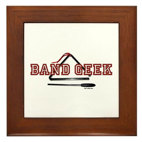 Band Geek Framed Tile