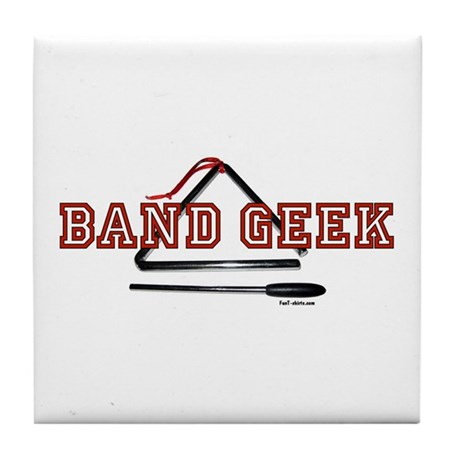 Band Geek Tile Coaster