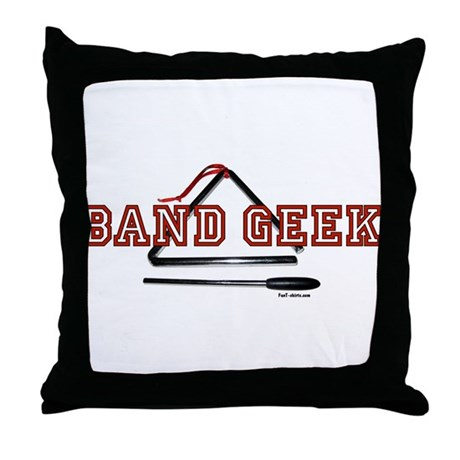 Band Geek Throw Pillow