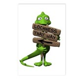 Lochness Monster Postcards (Package of 8)