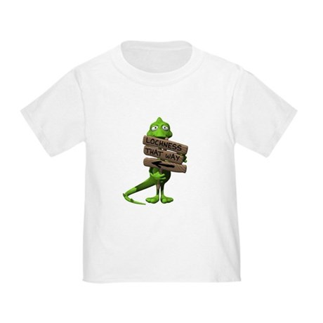 Lochness Monster Toddler T-Shirt