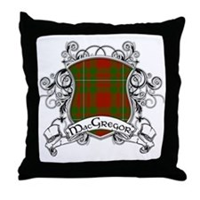 MacGregor Tartan Shield Throw Pillow