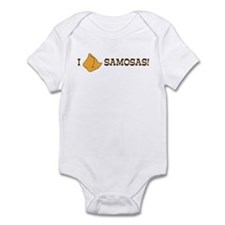 I Love Samosas Infant Bodysuit