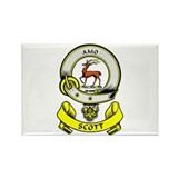 SCOTT 1 Coat of Arms Rectangle Magnet (10 pack)
