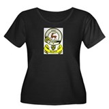 SCOTT 1 Coat of Arms Women's Plus Size Scoop Neck