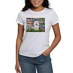 Lilies (#2) & Bolognese Women's T-Shirt