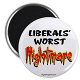 Liberals Worst Nightmare 2.25&quot; Magnet (100 pack)