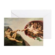 Creation of Adam Greeting Cards (Pk of 10)