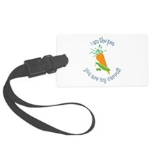 I Am The Pea You Are My Carrot! Luggage Tag