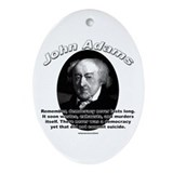 John Adams 02 Oval Ornament