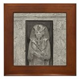 Egyptian Print Framed Tile