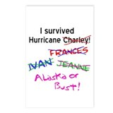 Florida Survivor Postcards (8)