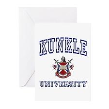 KUNKLE University Greeting Cards (Pk of 10)