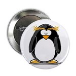 Macaroni Penguin Button