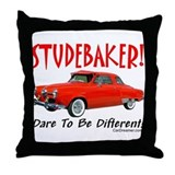 Studebaker-Dare to be Diff Throw Pillow