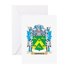 Gribben Coat of Arms - Family Crest Greeting Cards