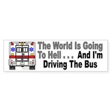 Going To Hell... Bumper Bumper Sticker