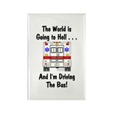 Going To Hell... Rectangle Magnet (100 pack)