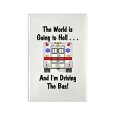 Going To Hell... Rectangle Magnet (10 pack)