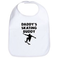 Daddys Skating Buddy Bib