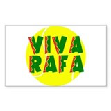 Viva Rafa Rectangle Decal