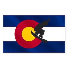 Colorado Snowboarding Decal