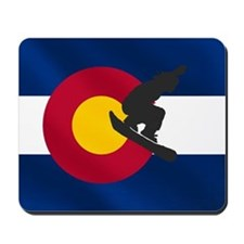 Colorado Snowboarding Mousepad