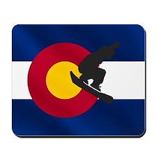 Colorado Snowboarding Mousepad
