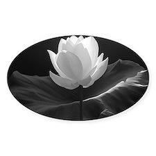 Lotus Flower en Noir Decal