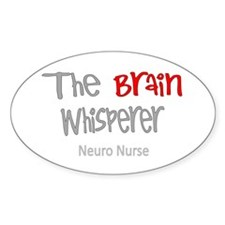 The brain whisperer neuro nurse Decal