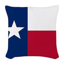 Texas Woven Throw Pillow