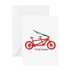 Totally Tandem Greeting Cards
